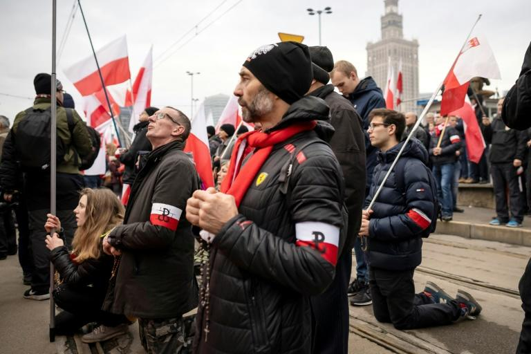 The march brings together the leaders and supporters of Poland's far right
