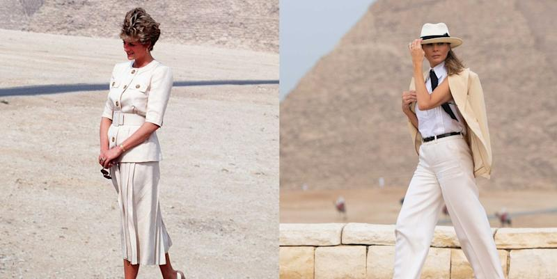 61033606a8595 Melania Trump Gave Us All a Valuable Lesson in How Not to Dress in ...