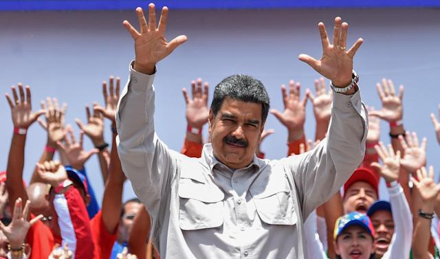 The president of Venezuela, Nicol <span>á</span>s Maduro (AFP/Archivos | Juan BARRETO)