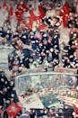 <p>President Kennedy on a state visit to Mexico, receiving a ticker tape parade. </p>