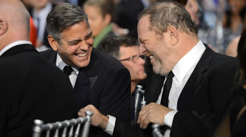 George Clooney Calls Harvey Weinstein's Alleged Misconduct 'Indefensible'
