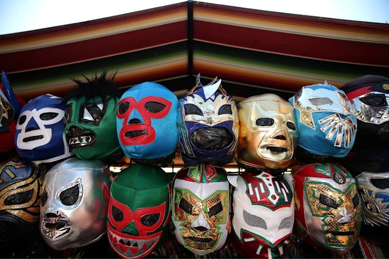 In Mexico, 'Lucha Libre' Wrestling Masks En Vogue in Coronavirus Fight