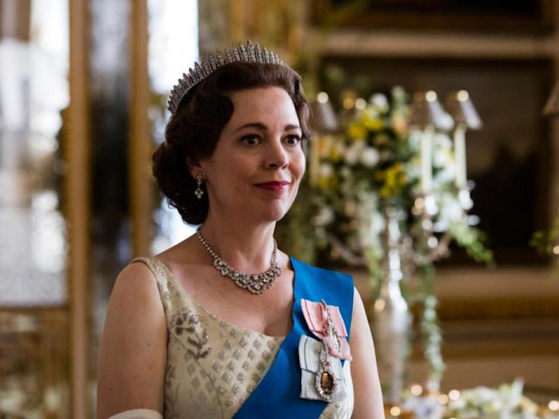 Succession: Olivia Colman takes over from Claire Foy as the Queen in the new series: Sophie Mutevelian/Netflix