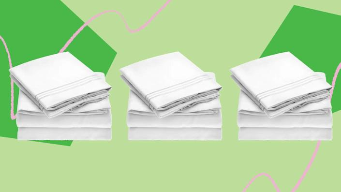 These Amazon sheets have 80,000+ reviews. (Photo: HuffPost)