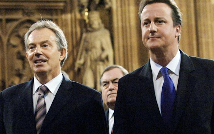 Tony Blair and David Cameron will be among those giving evidence to William Wragg's committee - PA