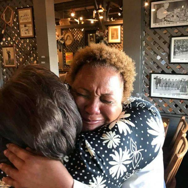 PHOTO: Janet Ballard was overcome with emotion when she received a $1200 tip from a group of 13 who wanted her to have a great Christmas. (James Deal)