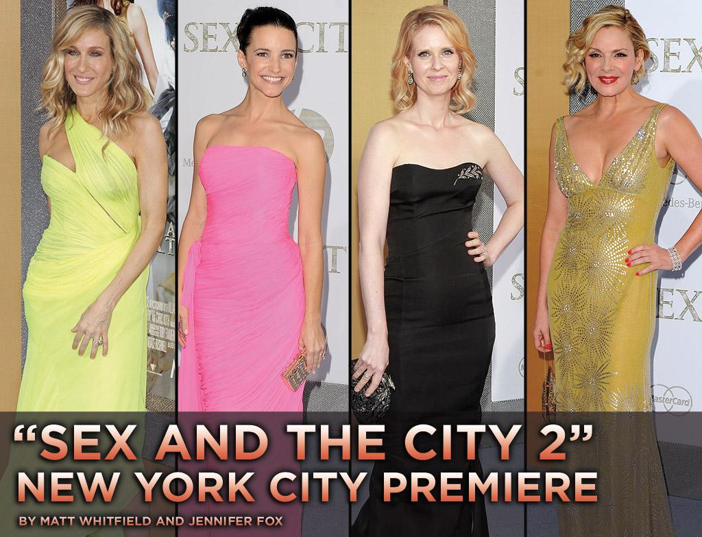 "On Monday evening, Radio City Music Hall hosted one of the year's most fashionable fetes: the premiere of ""<a href=""http://movies.yahoo.com/movie/1810111276/info"">Sex and the City 2</a>."" Click through the following slideshow to see the film's Fab Four strut their stuff in everything from neon to Naeem Khan, including SJP in two standout ensembles."