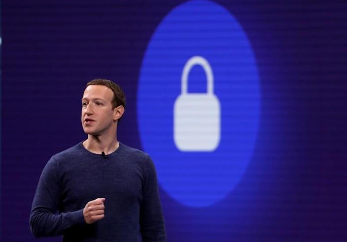 SAN JOSE, CA - MAY 01: Facebook CEO Mark Zuckerberg speaks during the F8 Facebook Developers conference on May 1, 2018 in San Jose, California. Facebook CEO Mark Zuckerberg delivered the opening keynote to the FB Developer conference that runs through May 2. (Photo by Justin Sullivan/Getty Images) ** OUTS - ELSENT, FPG, CM - OUTS * NM, PH, VA if sourced by CT, LA or MoD **