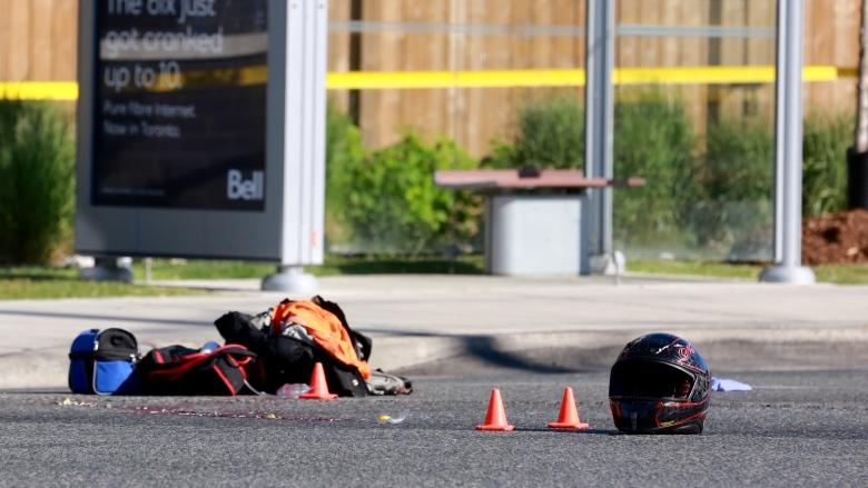 Photos of car released by police after motorcyclist killed in hit and run in Scarborough