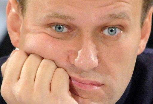 "Russian opposition leader Alexei Navalny, seen here in January 2012, has denounced a legislative bill that would allow Moscow to block access to blacklisted websites. Navalny said the legislation would ""move the Internet in the direction of the Zombie Box"" -- a slang term for Kremlin-controlled television"
