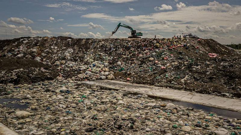 A landfill in Krok Sombun, east of Bangkok, on Sept. 12, 2019. The e-waste industry is booming in Southeast Asia and despite a ban on imports, Thailand is a center of the business, frightening residents worried for their health. Bryan Denton c. 2019 The New York Times