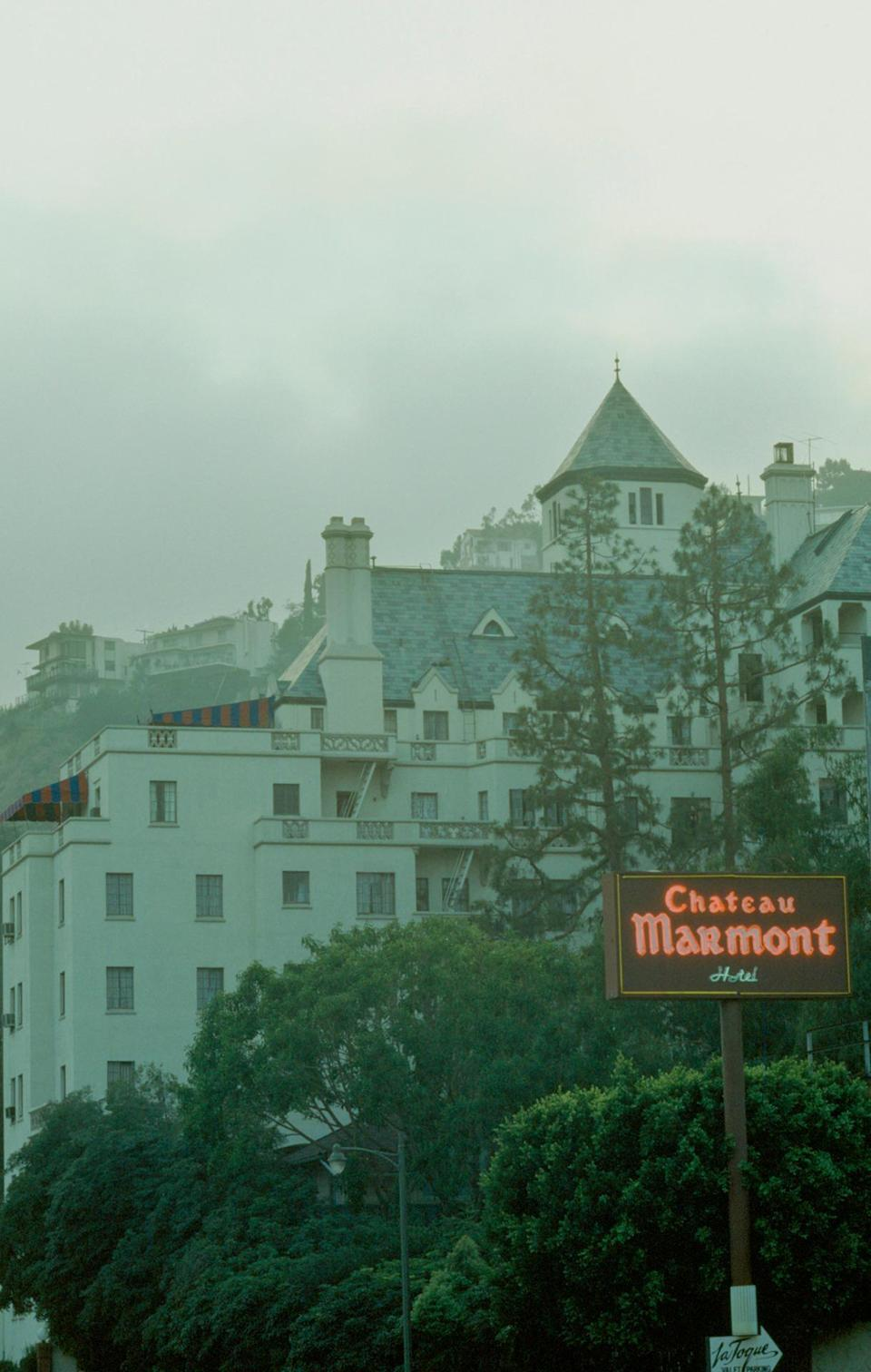 John Belushi's ghost reportedly lurks at the Chateau Marmont on Hollywood Boulevard. (Photo: Everett Collection)