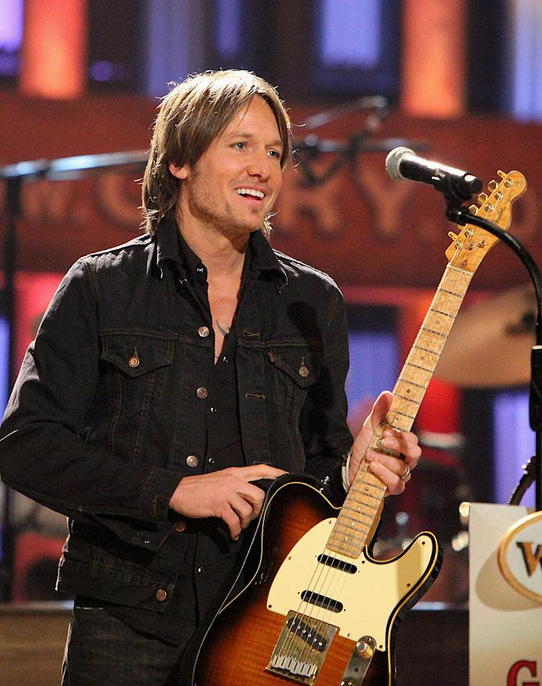 """Sorry ladies, Keith Urban is taken – and by one of Hollywood's biggest actresses, no less. And Nicole Kidman has no problem bragging about her hunky husband, whom she wed in 2006. Their romance is """"a very extraordinary, adventurous place to be: incredibly raw, incredibly dangerous and you're very much out at sea. You're exposed. You could drown,"""" she has told <em>British GQ</em>."""