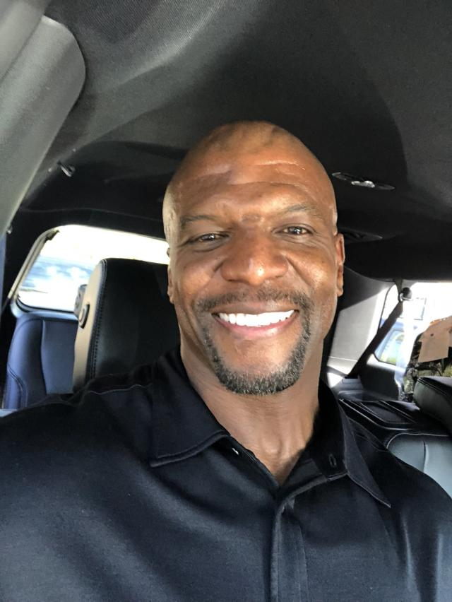 Terry Crews helped lift up the #BlackMenSmiling trend on social media (Photo: Twitter/@terrycrews)