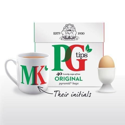 PG Tips Personalised Breakfast in Bed Gift Set - Credit: PG Tips