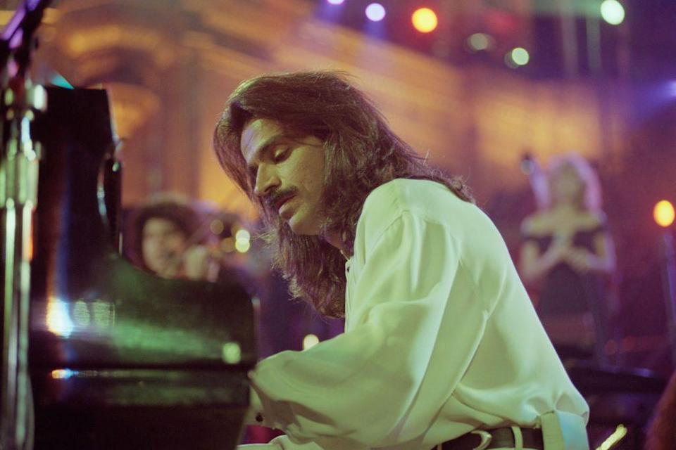 <p>The famous Greek musician's mustache truly made the man. It was almost as iconic as his <em>Live at the Acropolis </em>concert.</p>