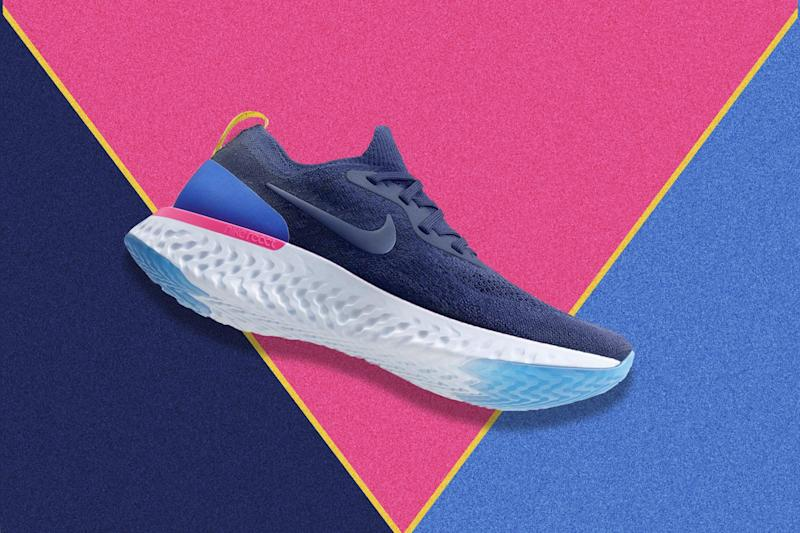 2654d9b62a3 Nike s New Epic React Flyknit Sneaker Takes a Major Shot at the Competition
