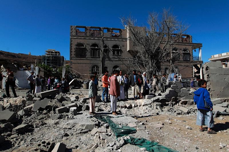 Around 6,400 people have been killed in the Yemen conflict since March 2015, according to the United Nations (AFP Photo/Mohammed Huwais)