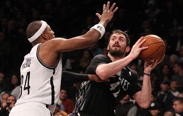 Kevin Love 'might be getting sick,' and Paul Pierce knows exactly what he's got