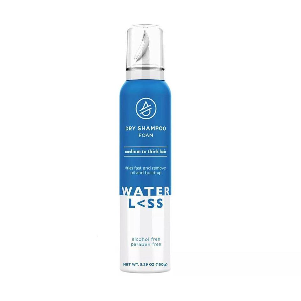 foaming dry shampoo by waterless hair care