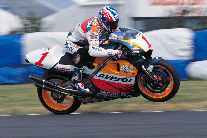 "1996: Mick Doohan, Repsol Honda Team<span class=""copyright"">Repsol Media</span>"