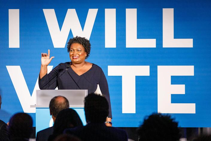 After penning nearly a dozen romance novels under thepseudonymSelena Montgomery,Abrams is switching gears to a subject she lives and breathes: politics.