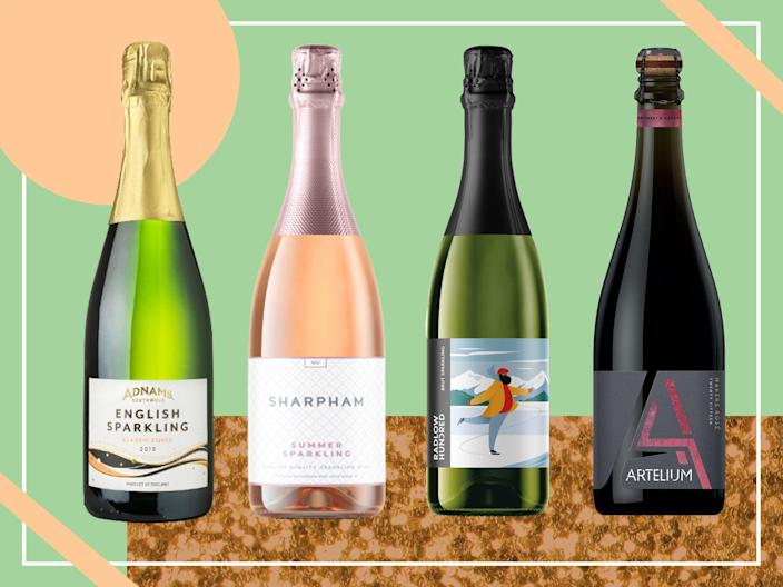 <p>The quality of English wine is so impressive that our tester struggled to choose the winning bottles </p> (iStock/The Independent )