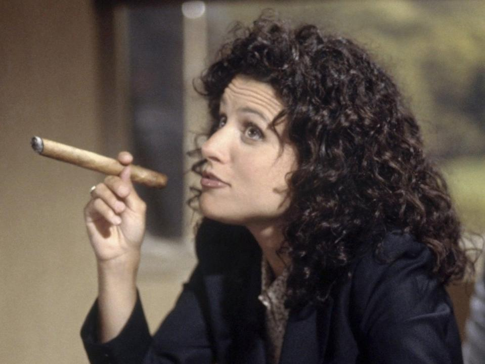 Julia Louis-Dreyfus in Seinfeld (Rex Features)