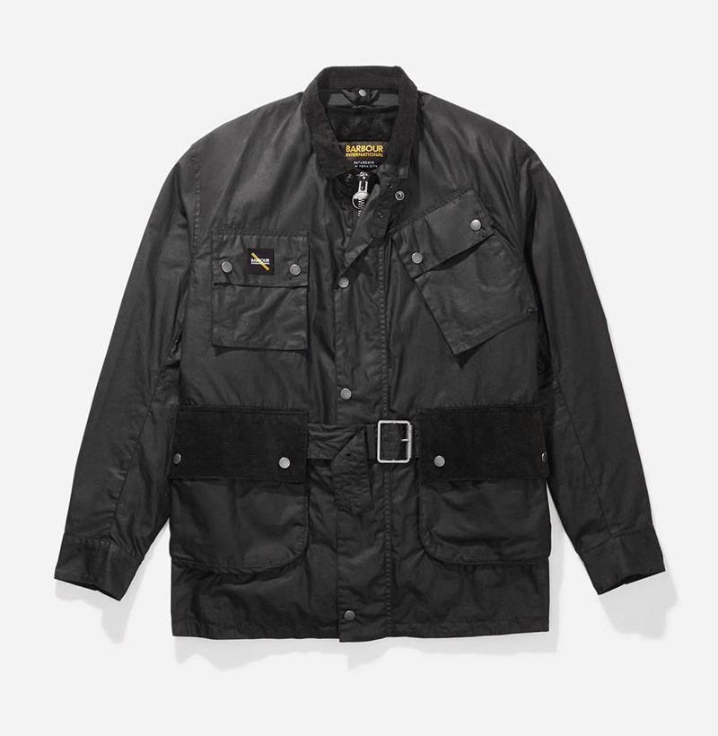 "<p><strong>Barbour x Saturdays NYC</strong></p><p>saturdaysnyc.com</p><p><strong>$525.00</strong></p><p><a href=""https://go.redirectingat.com?id=74968X1596630&url=https%3A%2F%2Fwww.saturdaysnyc.com%2Fcollections%2Fbarbour%2Fproducts%2Fbintl-winter-wax-jacket%3Fvariant%3D32584564932686&sref=https%3A%2F%2Fwww.esquire.com%2Fstyle%2Fmens-fashion%2Fg33928930%2Fbest-new-menswear-september-4-2020%2F"" rel=""nofollow noopener"" target=""_blank"" data-ylk=""slk:Buy"" class=""link rapid-noclick-resp"">Buy</a></p><p>And yet another updated take on yet another truly iconic silhouette. (And yes, I mean it this time too.)</p>"