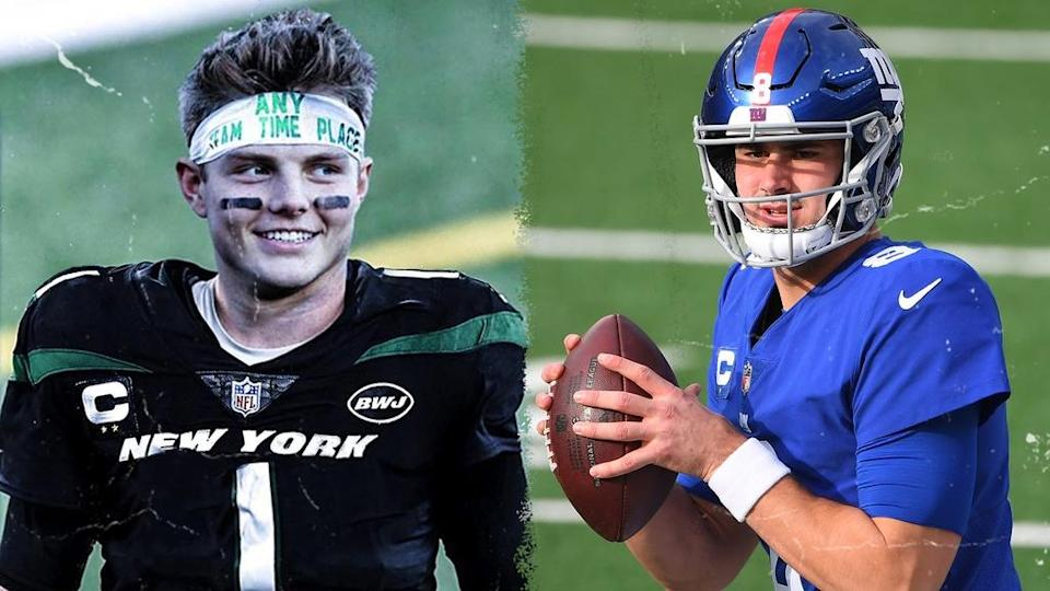 Zach Wilson/Daniel Jones side-by-side