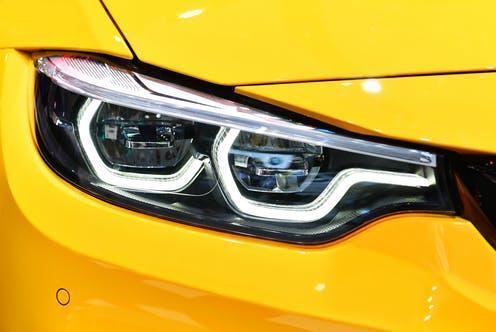 """<span class=""""caption"""">Germany's Osram dominates the market in automotive LEDs.</span> <span class=""""attribution""""><a class=""""link rapid-noclick-resp"""" href=""""https://www.shutterstock.com/image-photo/close-detail-on-one-led-headlights-1283222458"""" rel=""""nofollow noopener"""" target=""""_blank"""" data-ylk=""""slk:i viewfinder"""">i viewfinder</a></span>"""