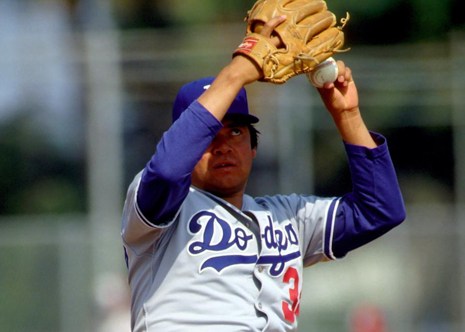 Fernando Valenzuela won 141 games with a 3.54 ERA in 17 seasons in the majors, mostly with the Los Angeles Dodgers.