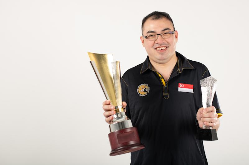 Para-bowler Eric Foo has won the Sportsman of the Year and Team of the Year awards at the 2020 Singapore Disability Sports Awards. (PHOTO: Singapore Disability Sports Council)