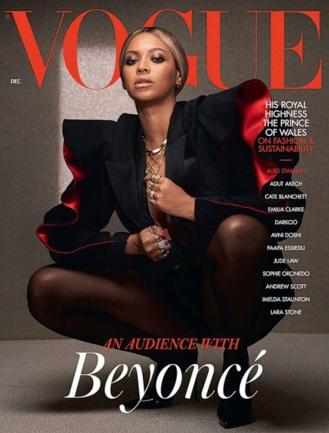 PHOTO: Beyonce appears on an alternate cover for the the Dec. 2020 issue of British Vogue magazine. (Kennedi Carter for British Vogue)
