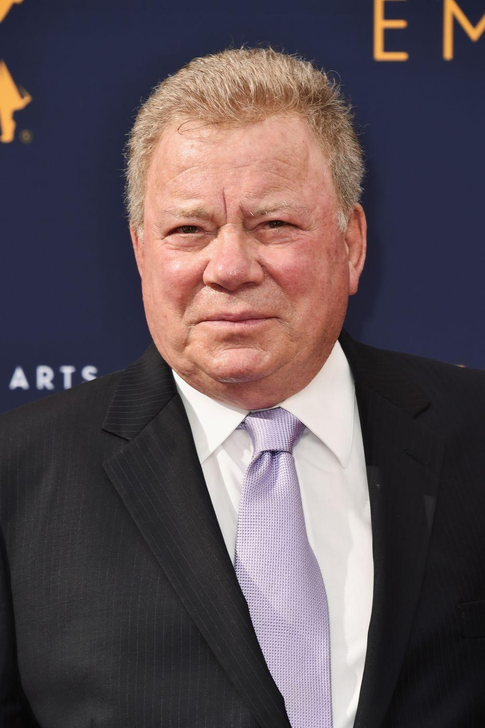 <p>Shatner was born in 1931 ... just let that sink in</p>