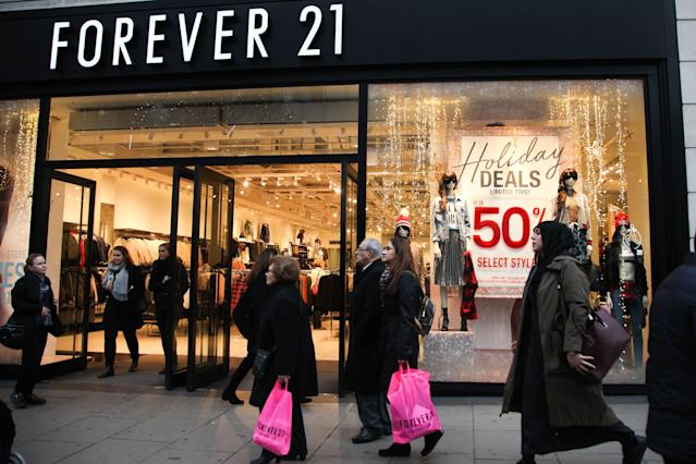 <p><strong>Top clothing brands</strong><br>No. 4: Forever 21<br>4 per cent of teens<br>(Canadian Press) </p>
