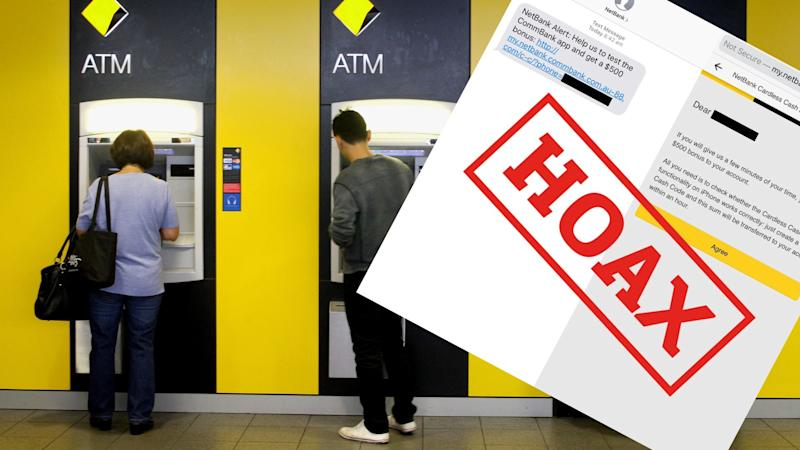 Commonwealth Bank of Australia customers targeted by $500