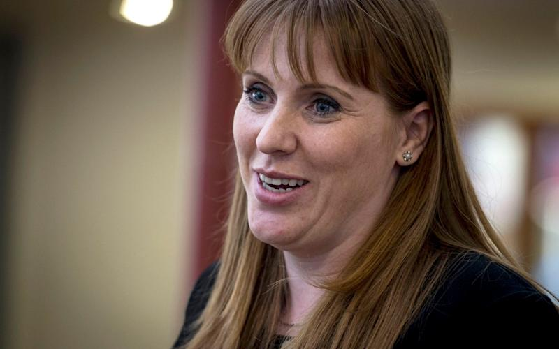 Angela Rayner, the shadow education secretary - PA