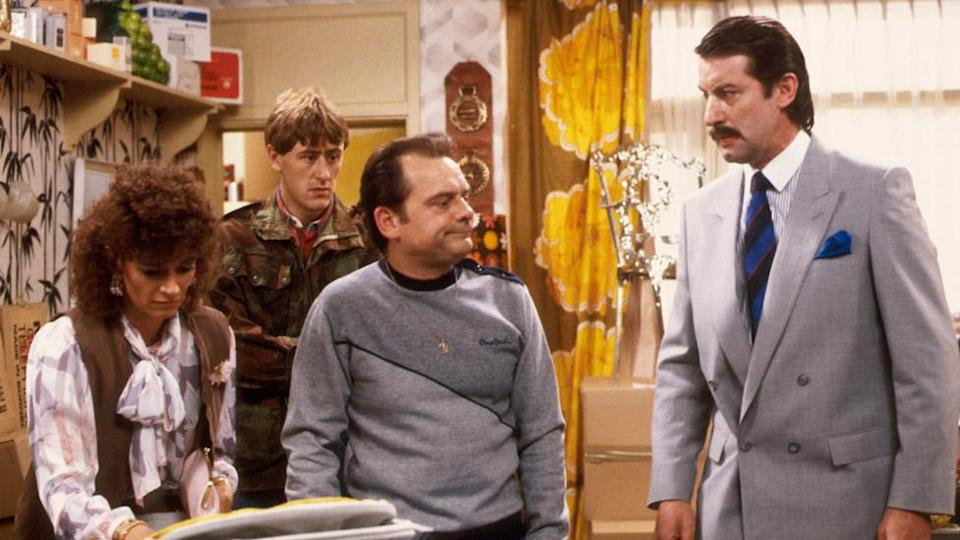 John Challis (right) in Only Fools and Horses