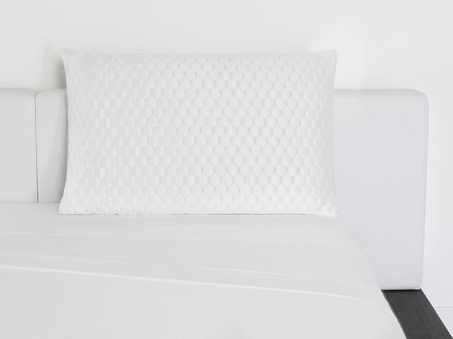 """<p>brooklynbedding.com</p><p><strong>$129.00</strong></p><p><a href=""""https://go.redirectingat.com?id=74968X1596630&url=https%3A%2F%2Fbrooklynbedding.com%2Fproducts%2Fluxury-cooling-pillow&sref=https%3A%2F%2Fwww.housebeautiful.com%2Fshopping%2Fg35645942%2Fbest-memory-foam-pillows%2F"""" rel=""""nofollow noopener"""" target=""""_blank"""" data-ylk=""""slk:Shop Now"""" class=""""link rapid-noclick-resp"""">Shop Now</a></p><p>Running over $100, the Brooklyn Bedding Luxury Memory Foam Pillow is on the expensive side, but is packed with advanced technology. The pillow is made with open cell, fast response memory foam that moves and contours with your body. You can choose from either low or high profile depending on if you are a back, side, or stomach sleeper.</p>"""