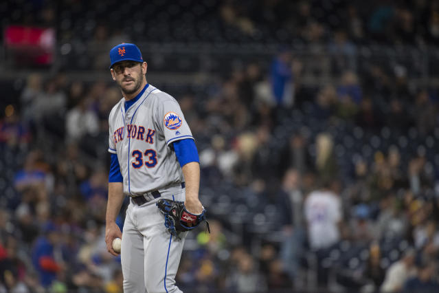 Matt Harvey's GM didn't hold back when asked about a report that Harvey partied the night before a game. (AP Photo)