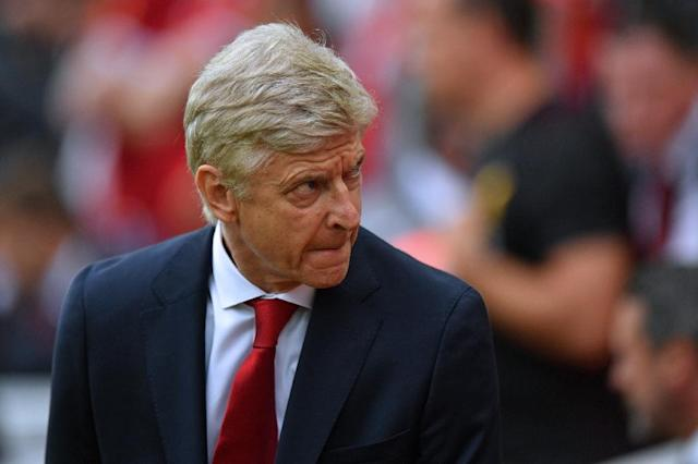 "<a class=""link rapid-noclick-resp"" href=""/soccer/teams/arsenal/"" data-ylk=""slk:Arsenal"">Arsenal</a> manager Arsene Wenger is under fire after a 4-0 defeat at <a class=""link rapid-noclick-resp"" href=""/soccer/teams/liverpool/"" data-ylk=""slk:Liverpool"">Liverpool</a>. (AFP Photo/Anthony Devlin)"