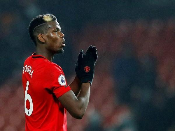 France and Manchester United midfielder Paul Pogba (file image)