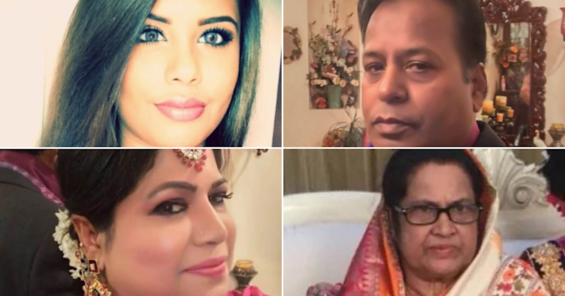 The four people who were found dead in a property in Markham, Ont.