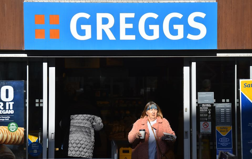 Greggs bakery store in Barnsley, England. Photo: Nathan Stirk/Getty Images