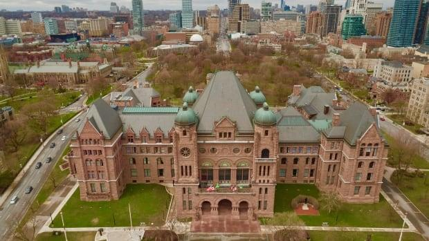 The Ontario government says it will reconvene the legislature on Thursday to introduce legislation that will enable it to invoke the notwithstanding clause to deal with a court ruling on a third party election financing law. (Ed Middleton/CBC - image credit)