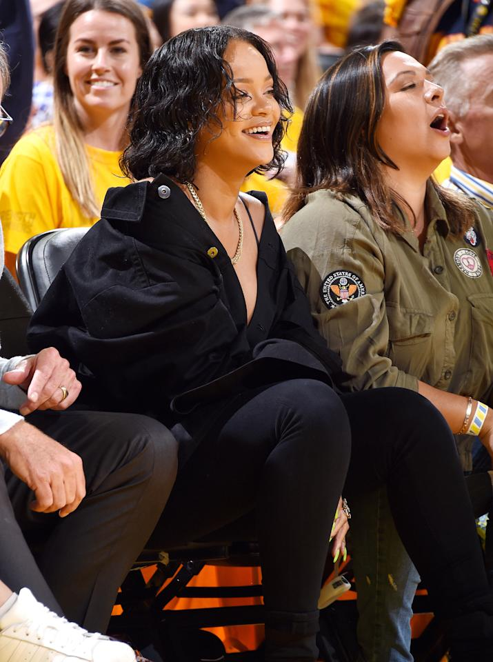 11 times we ignored basketball to watch rihanna in the