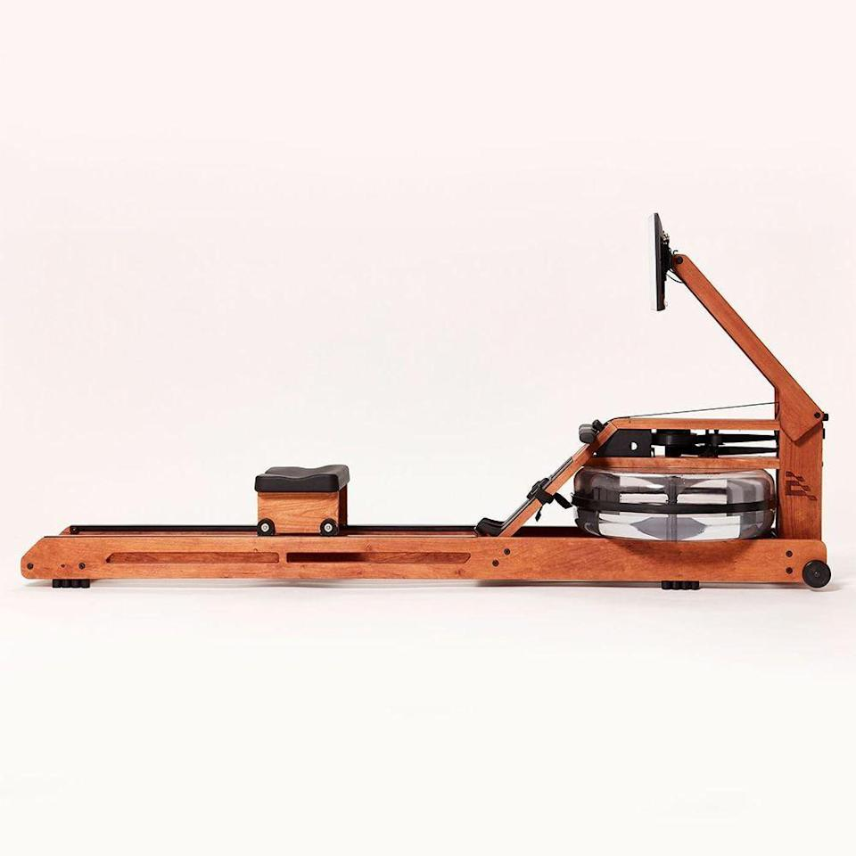 """<p><strong>Ergatta</strong></p><p>www.ergatta.com</p><p><strong>$2199.00</strong></p><p><a href=""""https://ergatta.com/product/the-ergatta-rower"""" rel=""""nofollow noopener"""" target=""""_blank"""" data-ylk=""""slk:Shop Now"""" class=""""link rapid-noclick-resp"""">Shop Now</a></p><p>If live workouts or streaming sessions with chatty trainers doesn't do it for you, this rower, that has workouts that feel almost like video games on its 17-inch touchscreen—might be a good fit for you. You'll love the water resistance which works off your effort, to make rowing easier or more difficult, depending on the power you generate.</p><p>Membership to classes sold separately for $29 per month.</p>"""