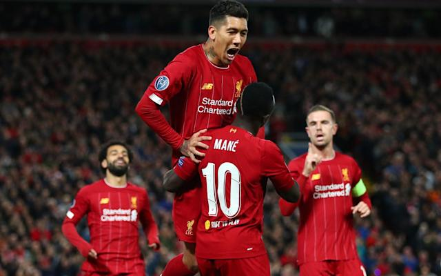Roberto Firmino and Sadio Mane have both been included on the shortlist - Getty Images Europe
