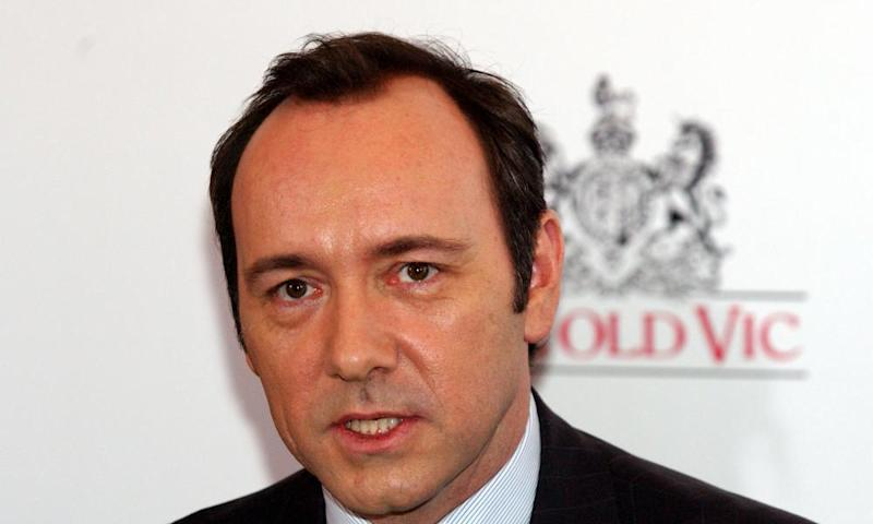 Kevin Spacey at the Old Vic in 2003.